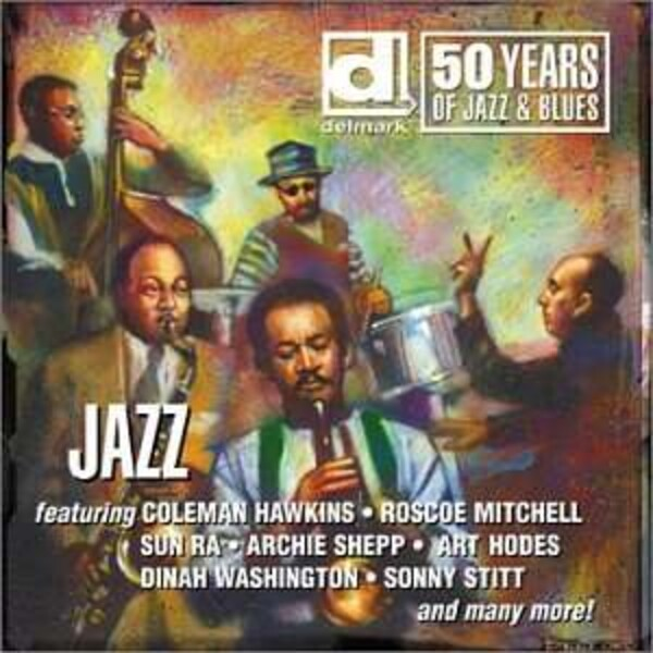 Jazz  2 Cd Box - Various Artists Delmark 50 Years Of Jazz & Blues
