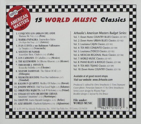 American Masters Vol.7 - Various Artists World Music Classics