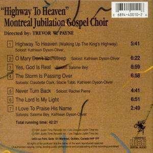 Montreal Jubilation Gospel Choir - Highway To Heaven