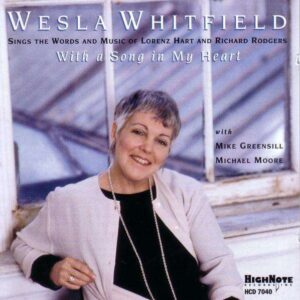 Wesla Whitfield - With A Song In My Heart