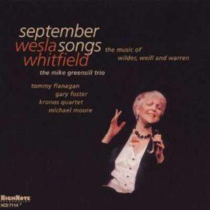 Wesla Whitfield - September Songs