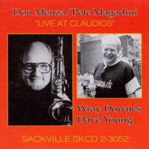 Don Menza - Live Claudia