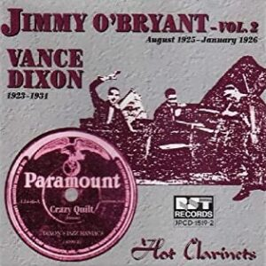 Jimmy O'Bryant Vol.2 - Hot Clarinets -