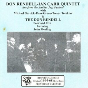 Don Rendell - Live From Antibes Jazz Festival