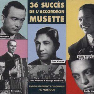 36 Succes De L'Accordeon Musette