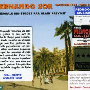 Fernando Sor - Intégrale Des Etudes