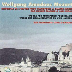 Wolfgang Amadeus Mozart - Intégrale Piano Forte À Quatre Mains