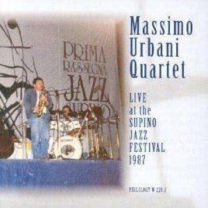Massimo Urbani Quartet - Live At The Supino Jazz Festival