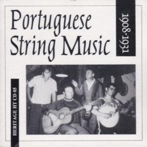 Portuguese String Music - 1908-1931
