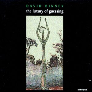 David Binney - The Luxury Of Guessing
