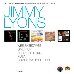 Jimmy Lyons - The Complete Remastered Recordings On Black Saint & Soul Note